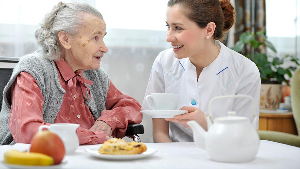 Nutritional needs of people in aged care